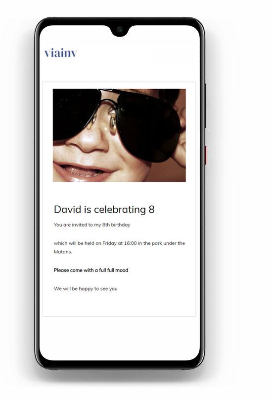 viainv digital invitation
